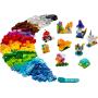 LEGO 11013 Briques transparentes créatives