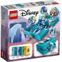 LEGO 43189 Les aventures d'Elsa et Nokk dans un livre de contes