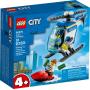 LEGO 60275 L'hélicoptère de la police