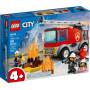 LEGO 60280 Le camion des pompiers avec échelle
