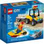 LEGO 60286 Le Tout-Terrain de secours de la plage