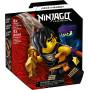 LEGO 71733 Set de bataille épique - Cole contre le guerrier fantôme