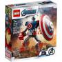 LEGO 76168 L'armure robot de Captain America