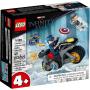 LEGO 76189 Captain America - Hydra confrontatie