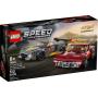 LEGO 76903 Chevrolet Corvette C8.R racewagen en 1968 Chevrolet Corvette